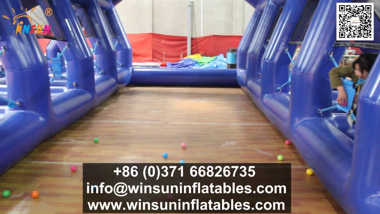 Water Balloon Battle Inflatable Game