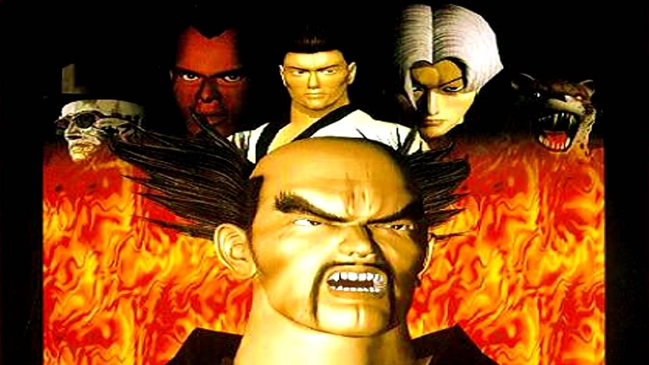 Tekken 2 - Character Select -arcade version- (Sega Genesis ...