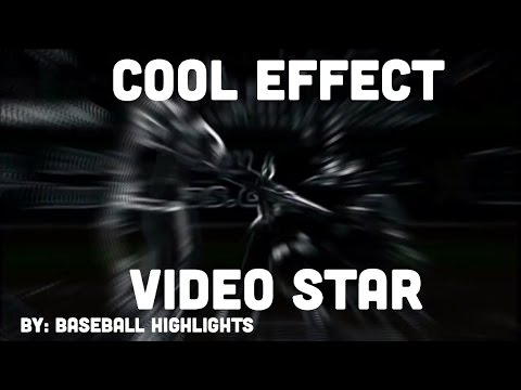 REALLY COOL EFFECT TUTORIAL VIDEO STAR
