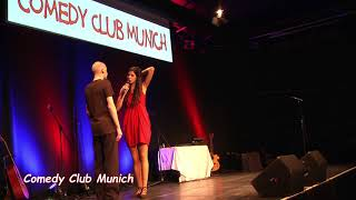 Joana Mendes - The Biggest Englisch/German Comedy Show 20. October 2017 - Comedy Club Munich