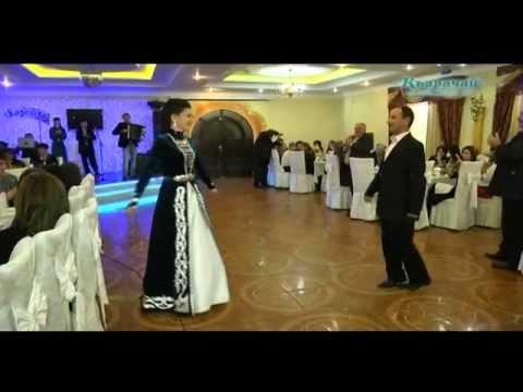 Карачаевский танец. А.Узденова, Ч.Узденов, Р.Катчиев
