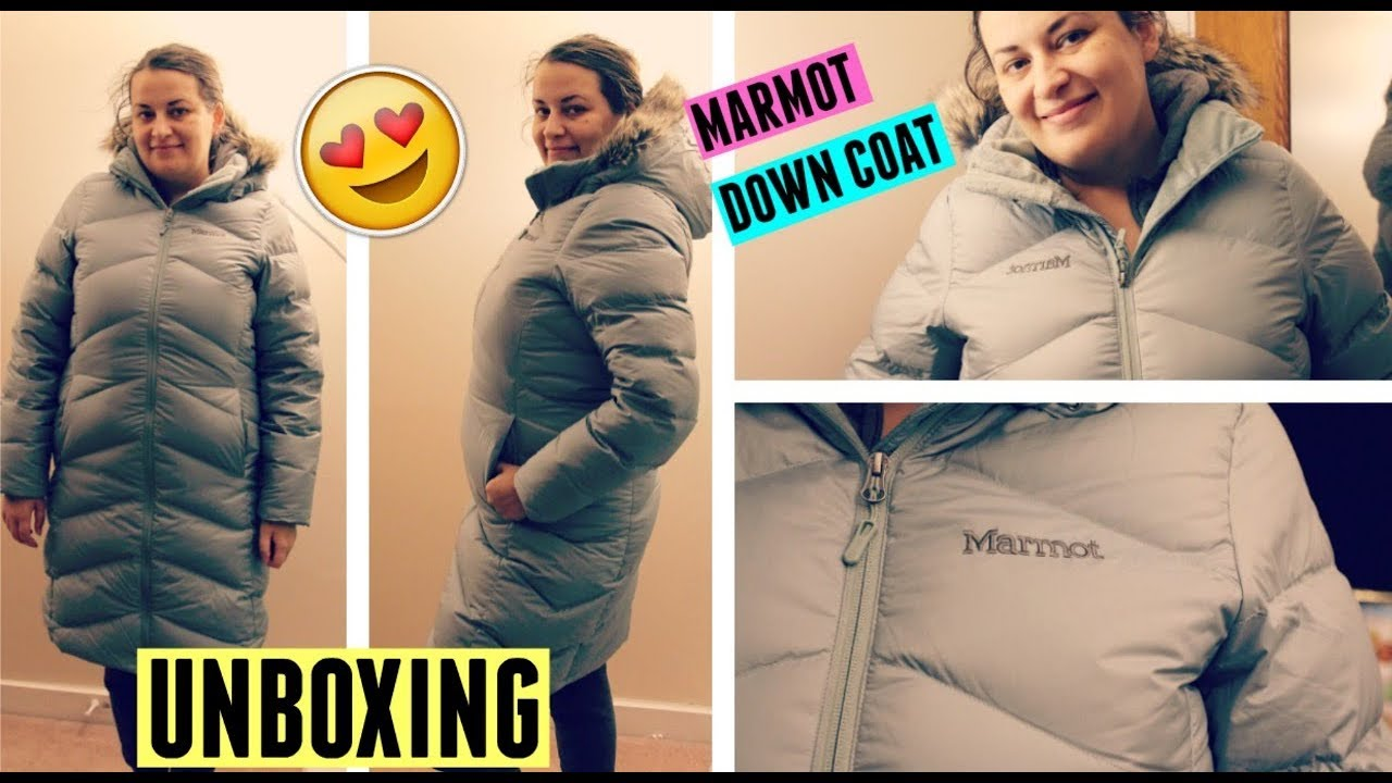 8a5412d82 Marmot Montreaux coat unboxing