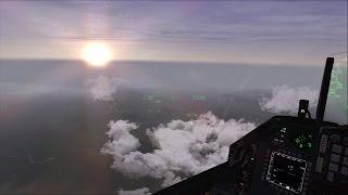 Falcon BMS - Battle for Balkans - Episode 23 - Escorting and Enjoying Sceneries
