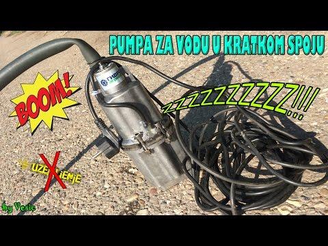 Pumpa za vodu u kratkom spoju (izbacuje osigurac)