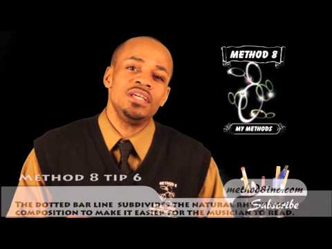 Method 8 Training Course on getting to know your Musical Symbols (Musical Lines and Staff Lines)