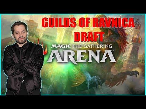 MTG Arena Guilds of Ravnica Draft! [Magic The Gathering: Arena Gameplay]