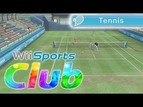 Wii Sports Club [Wii U] - Tennis