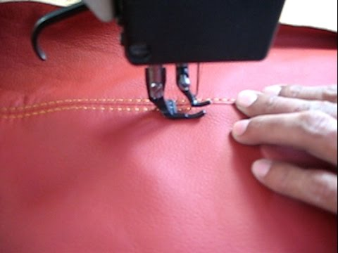 Leather-Wrapping A Dashboard - Auto Upholstery