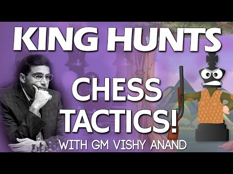 Chess Tactics and Strategy 📝 with GM Vishy Anand