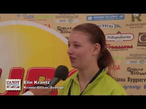 Interview before the Semi-Finals 2013 - Elin Krantz, Krantz grisar