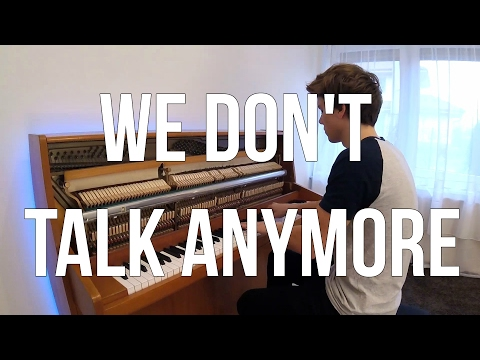 Charlie Puth & Selena Gomez - We Don't Talk Anymore (Piano cover) - Peter Buka