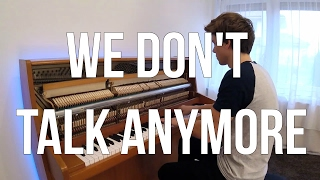 Charlie Puth Selena Gomez We Don 39 t Talk Anymore Piano cover Peter Buka