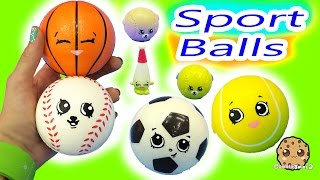 Dollar Tree DIY Shopkins Season 5 Inspired Big Sports Balls Easy Do It Yourself Painting