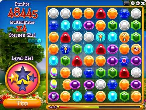 Jewels 2 - m2p-Games Highscore Tricks (mehr als 5 Million Punkte)