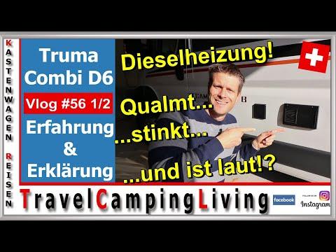 #56 2/3 | DIESELHEIZUNG, 2 Jahre Qualm, Lärm, Gestank? Erfahrung mit Truma Combi 6D | Wintercamping