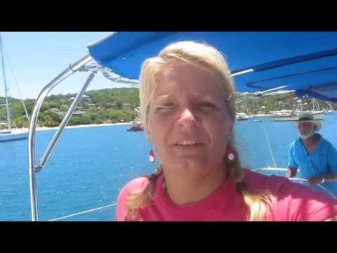 Arriving to English Harbour (Fortress) - Antigua