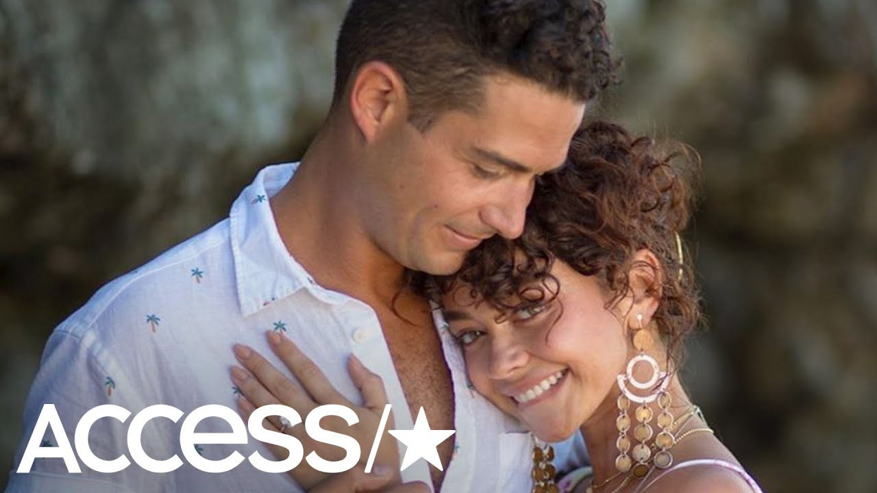 Modern Family's Sarah Hyland and The Bachelorette's Wells Adams Are Engaged!