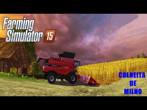 Farming Simulator 15   Colheita de Milho Feat Crazy Gamer 1080p
