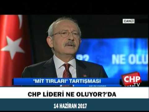 CHP LİDERİ NE OLUYOR?'DA 14/06/2017