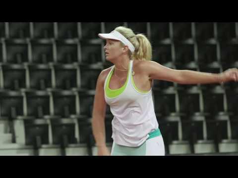USTA Fed Cup 2018: CoCo Vandeweghe vs. Kristina Mladenovic on Day 1
