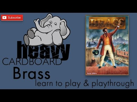 Heavy Cardboard Teaches Brass & Full Playthrough!