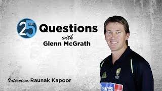 Which three batsmen would make Glenn McGrath's dream hat-trick?