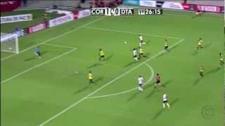 Corinthians 6 x 0 Deportivo Táchira (18/04/2012)