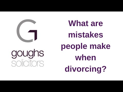 Experienced Family Lawyers, Discuss Mistakes People Make When Divorcing