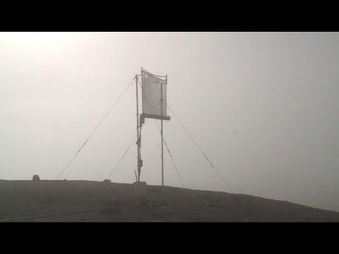 Atacama, el desierto más árido del mundo, bebe agua de niebla