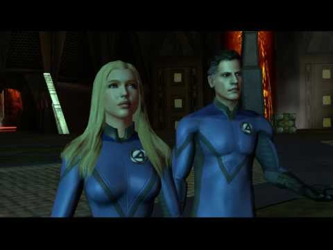Fantastic Four: Rise of the Silver Surfer Video Game First Play With SuperMrAmazingPants Episode 1