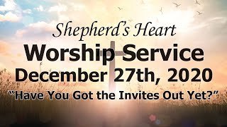 """Sunday Morning Worship 12/27/20 