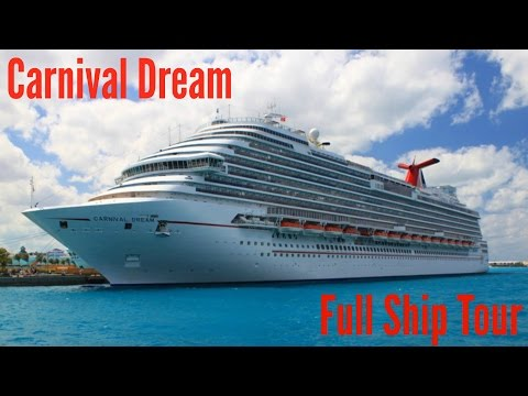 Carnival Dream: Full Ship Tour