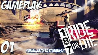 "187 Ride or Die Gameplay PTBR #1 ""Relembrando o jogo"" [PS2] 【Full HD 60FPS】"