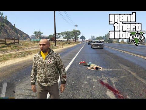 อุบัติเหตุ หนุ่มซิ่งจักรยานยนต์ ชนท้ายรถยนต์ สก๊อยที่ซ้อนมาด้วยดับคาที่ | GTA V