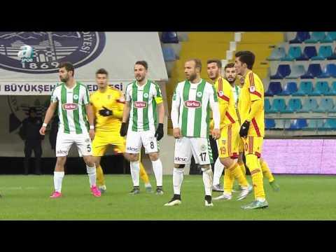 Kayserispor 0 – 1 Torku Konyaspor  Maç Özeti (19 Ocak 2016)