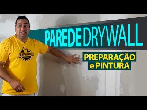 Como Preparar E Pintar Drywall Passo A Passo
