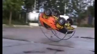 Car stunt with science