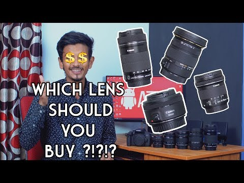All About DSLR Lenses in Bangla  4K  ATC