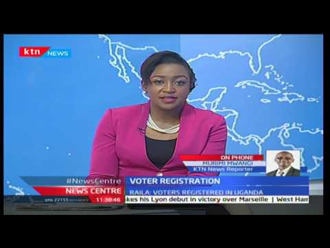 Cord Leader Raila Odinga claims that NIS is involved in voter registration