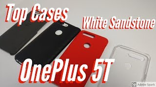 Top Cases for the White Sandstone OnePlus 5T from OnePlus