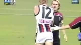 Brisbane Lions v St. Kilda - Nick Riewoldt Incident - Part 1