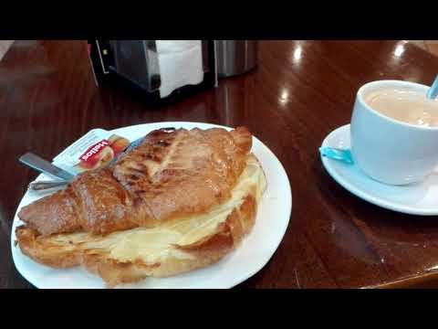 Morning Breakfast in Spain