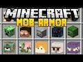 Minecraft MOB ARMOR MOD (Mod Showcase)