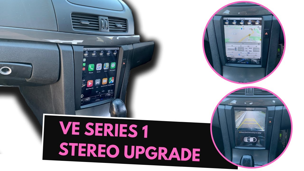 VE Commodore Replacement Stereo ~~ Kayhan VE Series 1 Stereo