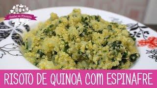 RISOTO DE QUINOA COM ESPINAFRE - Episódio 150 - Receitas da Mussinha