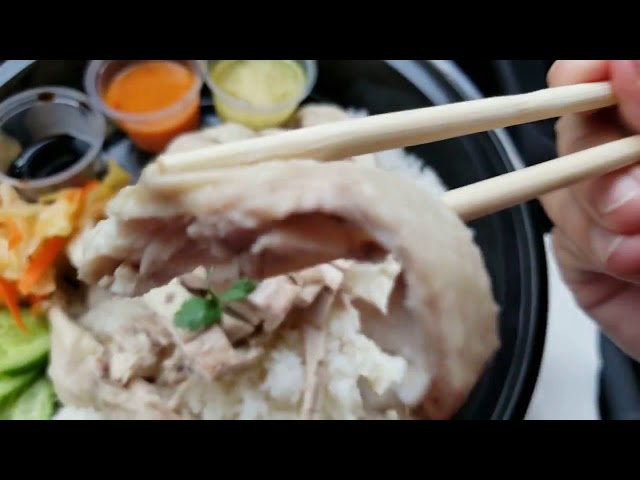 Hainan Chicken From The Naked Chik | CouchPotatoCook.com