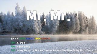 [은성 반주기] Mr.Mr. - 소녀시대