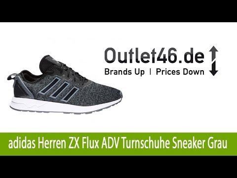 Athletischer adidas Herren ZX Flux ADV Turnschuhe Sneaker