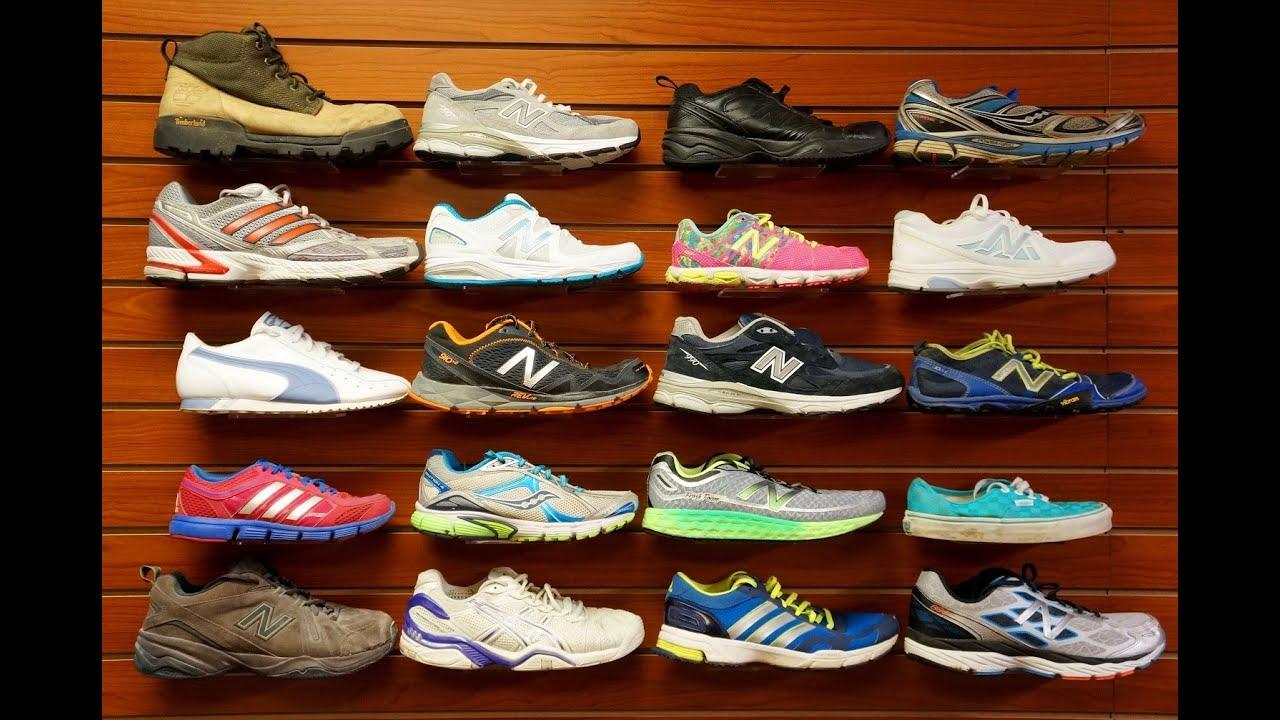 3680a0c3e أحذية رياضية مستعملة لشحن used sneakers - YouTube