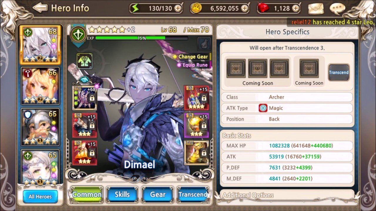 King's Raid - How to build your Dimael and Aisha MAX DPS